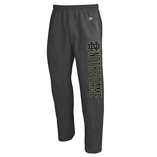Elite Fan Shop Notre Dame Fighting Irish Sweatpants Charcoal - XL