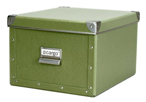 cargo Naturals Shelf Box, Sage, 7-3/4 by 12-1/2 by 10-1/2-Inch