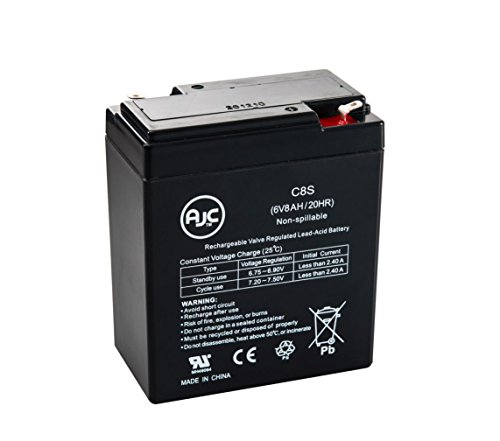Light CE1-5AL 6V 8Ah Emergency Light Battery - This is an AJC Brand Replacement