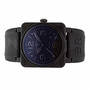 Bell & Ross BR 03 automatic-self-wind mens Watch BR03-92-S (Certified Pre-owned)