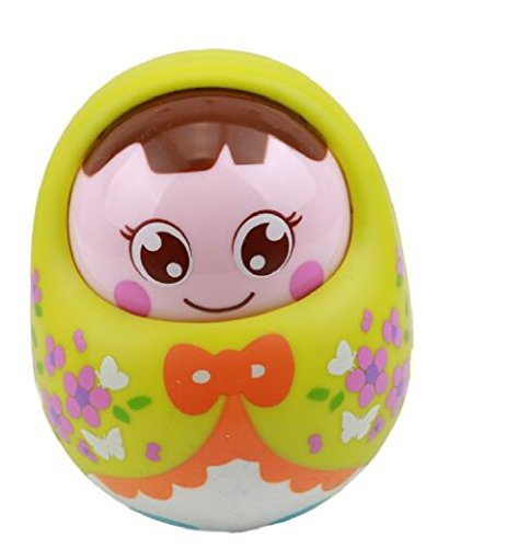 Baby Toys Tumbler Doll Baby Rattles Gifts Cute Facial Expression Original Toys (Original Spelling Of Halloween)