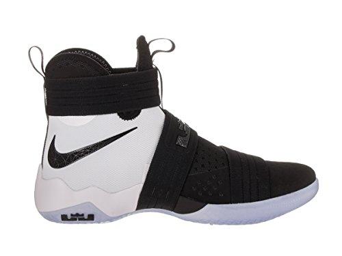 Zapatillas de baloncesto Nike Lebron Soldier 10 SFG Black / Black White 11,5 Hombre EE. UU.
