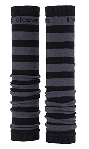 Med Sleeve Grey and Black Stripes, 2 Count Prestige Medical MS-GBS