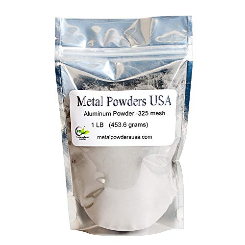 - Aluminum Powder -325Mesh One Pound (1LB) Ships 1-3 Days Priority Mail