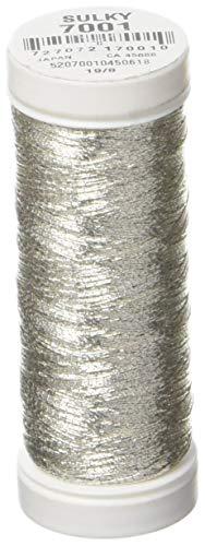 (Sulky 142-7001 Metallic Thread, Silver)