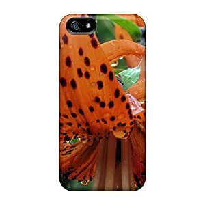 Uqa7062TVgV Cases Covers Tiger Lilly Iphone 5/5s Protective Cases