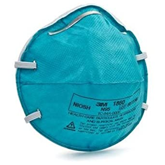 Health 10 Masks Pack Care Amazon Of in Respirators 3m N95 1860s