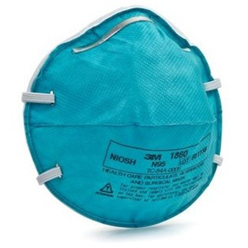 3M 1860S N95 Health Care Respirators Pack of 10 Masks