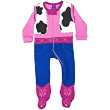 Sozo Baby-Girls Cowgirl Footed Romper