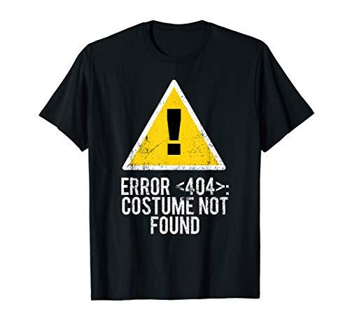 404 Halloween Costumes - Halloween Error 404 Costume Not Found