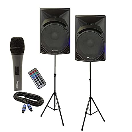 "Soundtrack Pro Audio MANTA-15MP3S/SUPER SOUND PACK Pair of 15"" High Power"