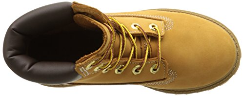Timberland 6 Premium Inch Kids Casual Boot Wheat qwOfq1xZr7