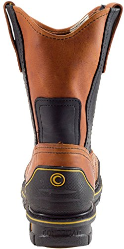 Cebu Mens Brdshark 10 Work Boot Honey