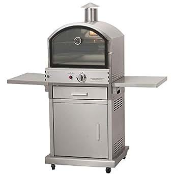 Estilo de vida CS406Milano Gas barbacoa Pizza horno lfs690