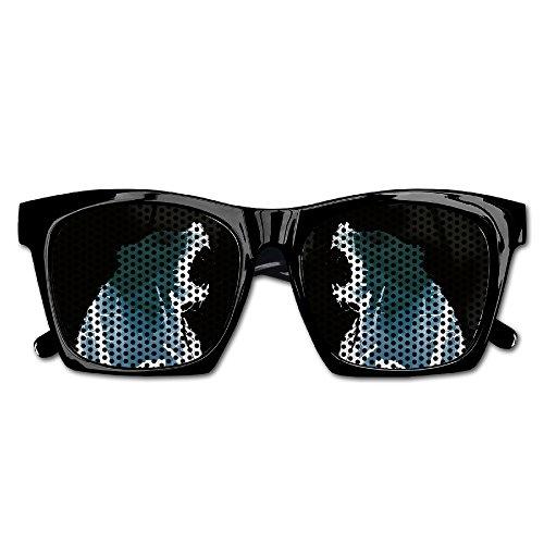 Revenant Dicaprio Poster Film Art Bear Dark Party Fancy Party Favor Anti Glare Mesh Lens - Dicaprio Sunglasses