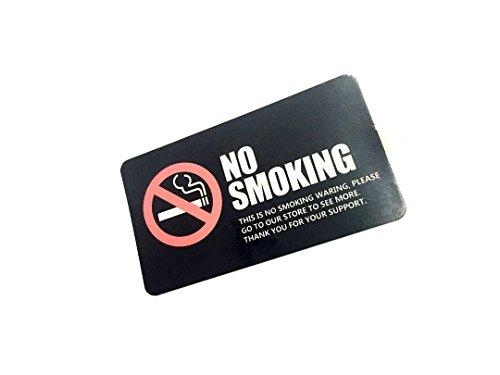 Dian Bin- No Smoking Black KK Car Sticker Vehicle-logo Badge Emblem