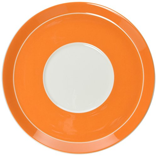Mikasa Circle - Mikasa Circle Chic Tea Saucer, 6.5-Ounce, Orange