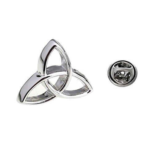 Triquetra Symbolism Triangle Holy Trinity Celtic Lapel Pin Tack Tie Procuffs L47