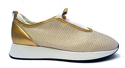 FRAU - Zapatillas para deportes de exterior para mujer dorado dorado 37 dorado