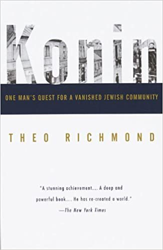 Konin one mans quest for a vanished jewish community theo konin one mans quest for a vanished jewish community theo richmond 9780679758235 amazon books fandeluxe Gallery