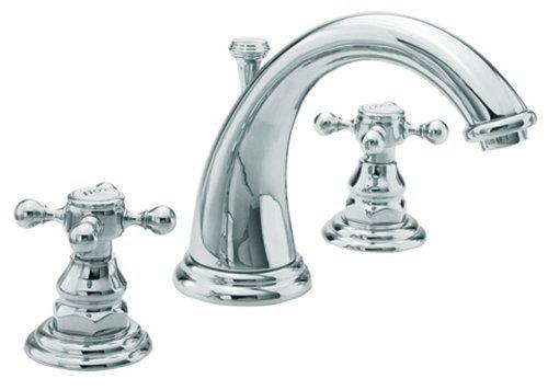 Newport Brass 890/26 890 Series Widespread Lavatory Faucet, Polished Chrome (Widespread Bath Faucet Series)