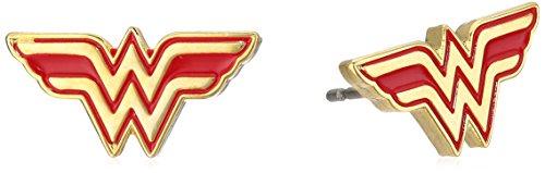 DC Comics Wonder Woman Stainless Steel Stud ()