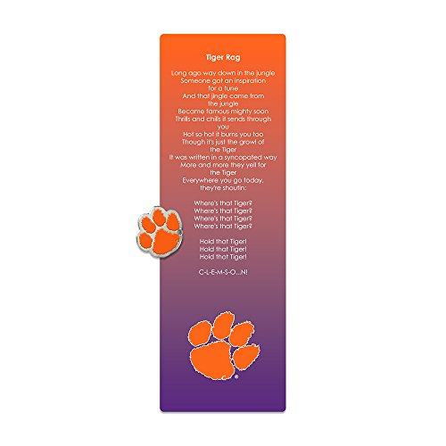 - Fan Frenzy Clemson Tigers Bookmark & Pin