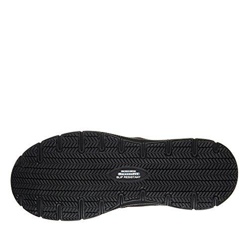 Work Sr 77071ec Black Advantage Skechers Chaussures Hommes Bronwood Flex RnFwXg