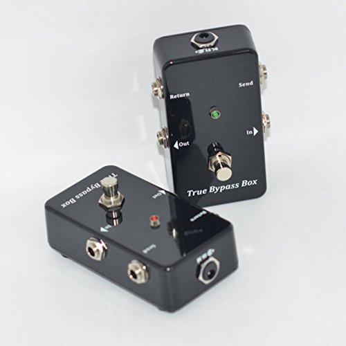 TTONE True Bypass Looper Pedal Guitar Super Loop Effects Looping Switcher Mini Switch Box Black
