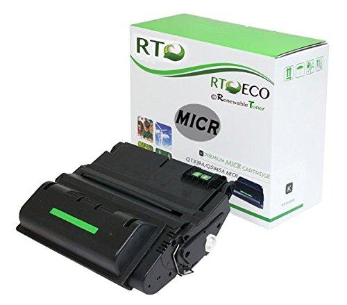 (Renewable Toner Compatible MICR Toner Cartridge for HP 39A Q1339A 45A Q5945A Laserjet 4300n 4300tn 4300dtn 4300dtns 4300dtnsl 4345 x 4345 m 4345xs m4345 m4345x m4345xm m4345xs MFP)