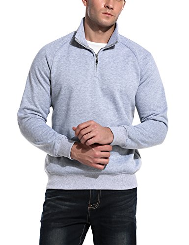 Zip Fleece Mock Neck - 2