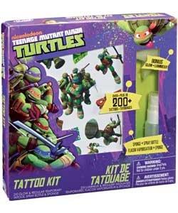Amazon.com : Teenage Mutant Ninja Turtles Tattoo Kit. : Baby