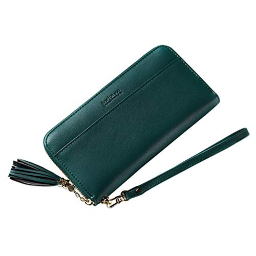 Women's Large Capacity Purse Leather Clutch Wallet Ladies Holder Purse Retro Hand Take Wallet Purse