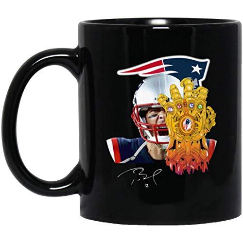 (TOM BRADY PATRIOTS THANOS 11 oz. Black Mug)