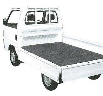 アルデ 軽四 ゴムマット 7mm厚 軽トラック荷台用 1400×2010mm R-1407