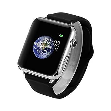 Bluetooth V1 Smart Watch Monitor de ritmo cardíaco Reloj ...