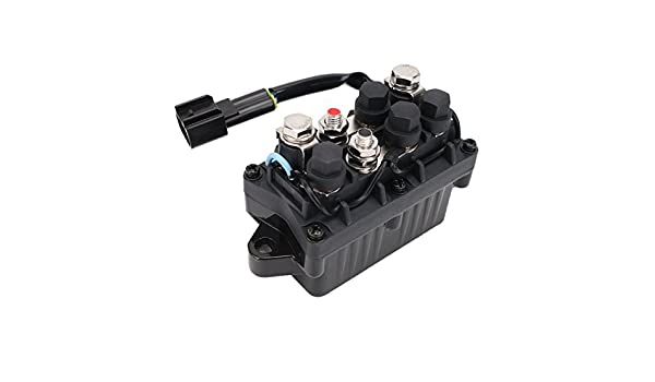 Motor Power Trim inclinación caja del relé para Yamaha Outboard barco 40 – 90hp 63p819500000: Amazon.es: Coche y moto