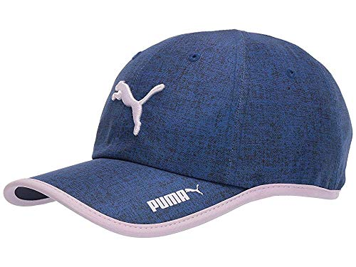 PUMA Women's Evercat Taylor Running Adjustable Cap Blue/Pink One Size