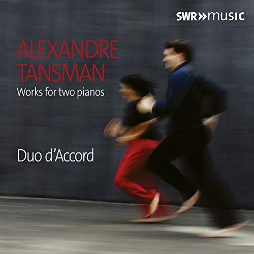 Tansman: Works for Two Pianos - Accord Cd