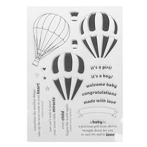 hot air balloon stamp - 9