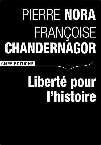 Livres Liberté pour l'histoire pdf ebook