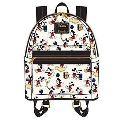 (Loungefly Mickey Balloon AOP Mini Backpack)