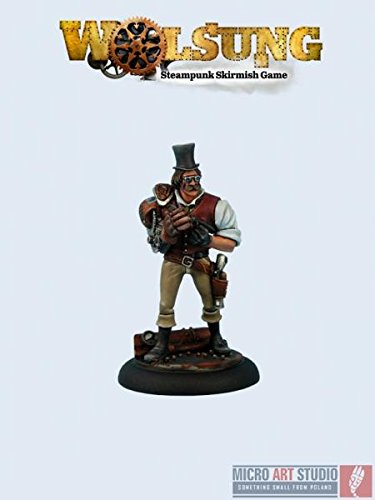 Micro Art Wolsung Steampunk Game: Archibald Armstrong (1) 4