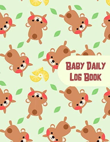 Baby Daily Log Book: Ideal For New Parents, Sleeping and Baby Health Notebook, Sleep, Feed, Diapers, Baby Record Journal, Great For Gift ! (110 Pages, 8.5 x 11)