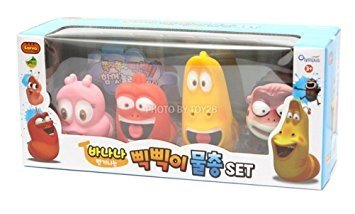 LARVA [Larva Pik Pik Water Gun 4Pcs] - Korean TV Slapstick Comedy Animation Toy Gift promotion