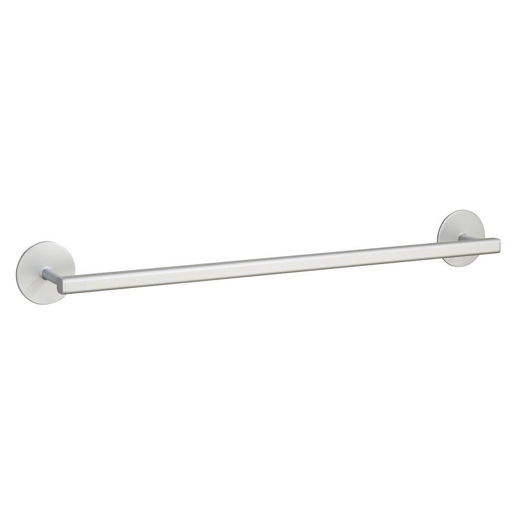 InterDesign Metro Aluminum Wall Mount Bathroom Hand Towel Bar Silver 22530 24