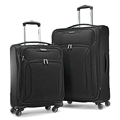 (Samsonite Spherion 2-Piece Set Black)