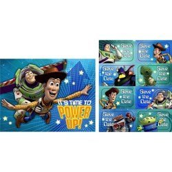 Toy Story 'Game Time' Invitations w/ Envelopes -