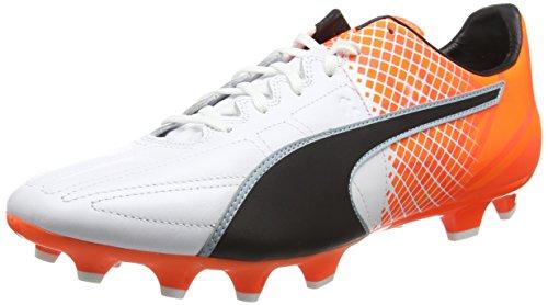 Puma Es 3.5 Lth Fg Q4, Scarpe da Calcio Unisex-Adulto, Bianco (White 03), 48.5 EU