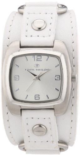 TOM TAILOR Damen-Armbanduhr Analog Quarz Leder 5410603